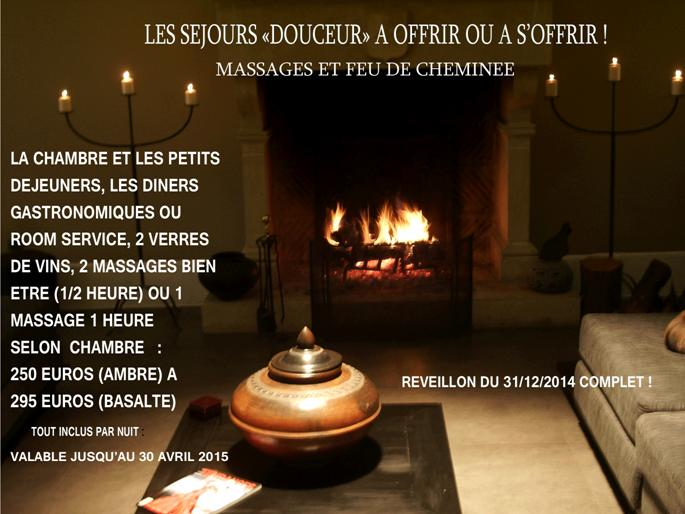 "profitez d""un week end douceur massages inclu"